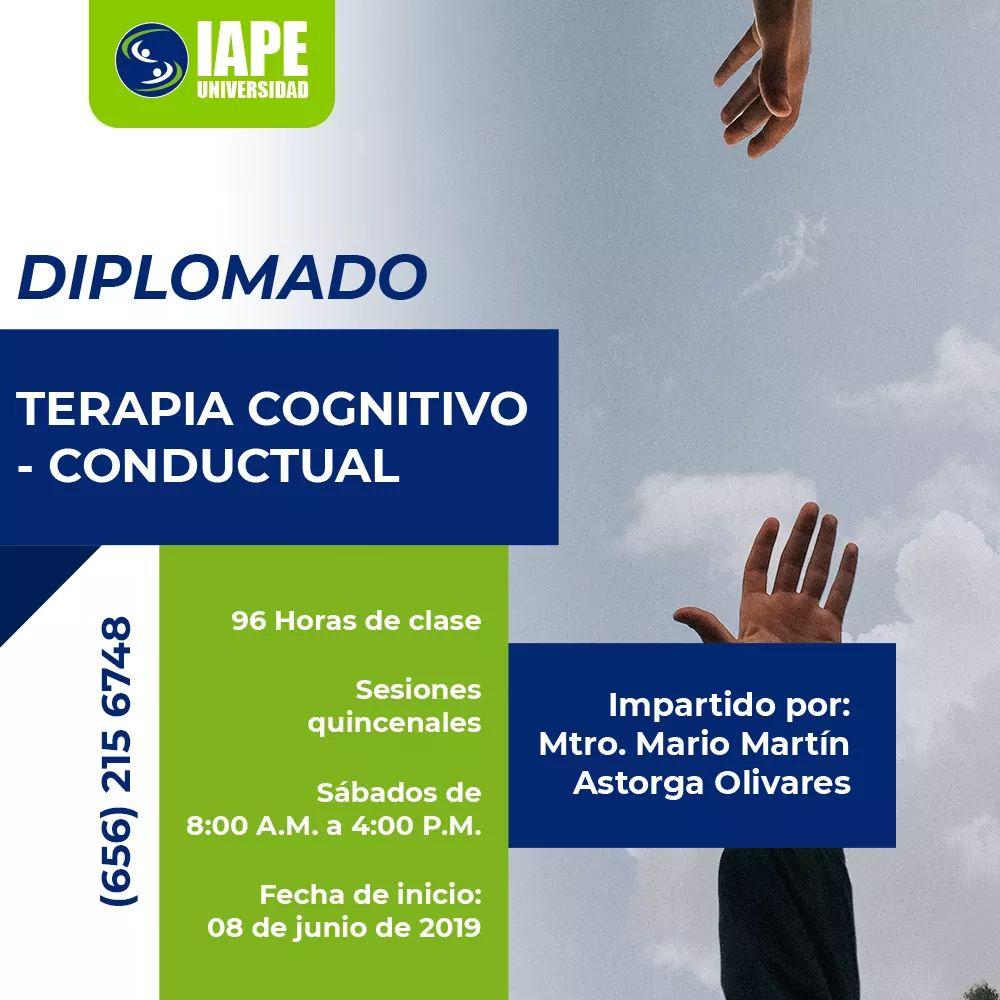 Diplomado en Terapia Cognitivo-Conductual, en Ciudad Juárez.
